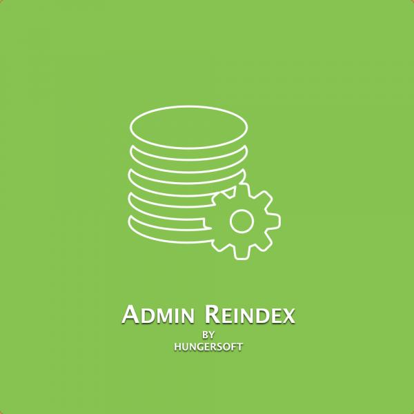 Admin Reindex