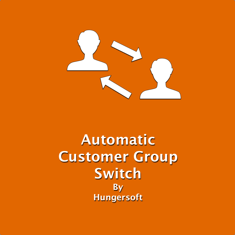 Magento Automatic Customer Group Switch