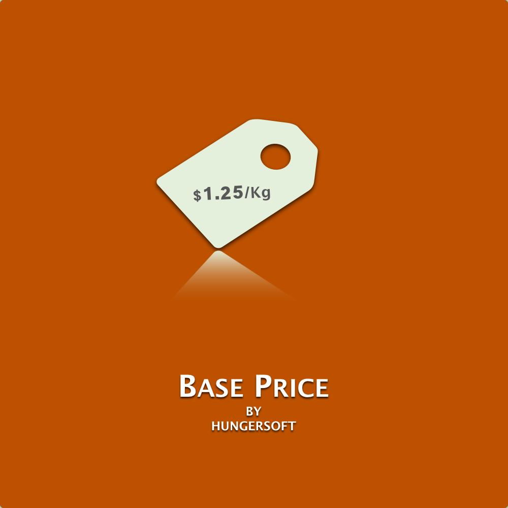 Base Price - Magento 2
