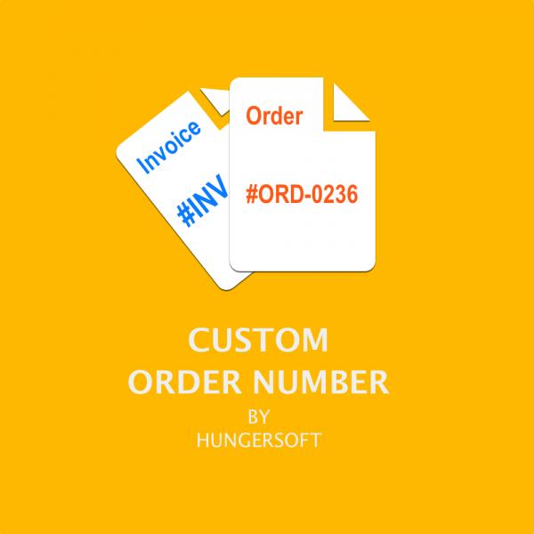 Custom Order Number