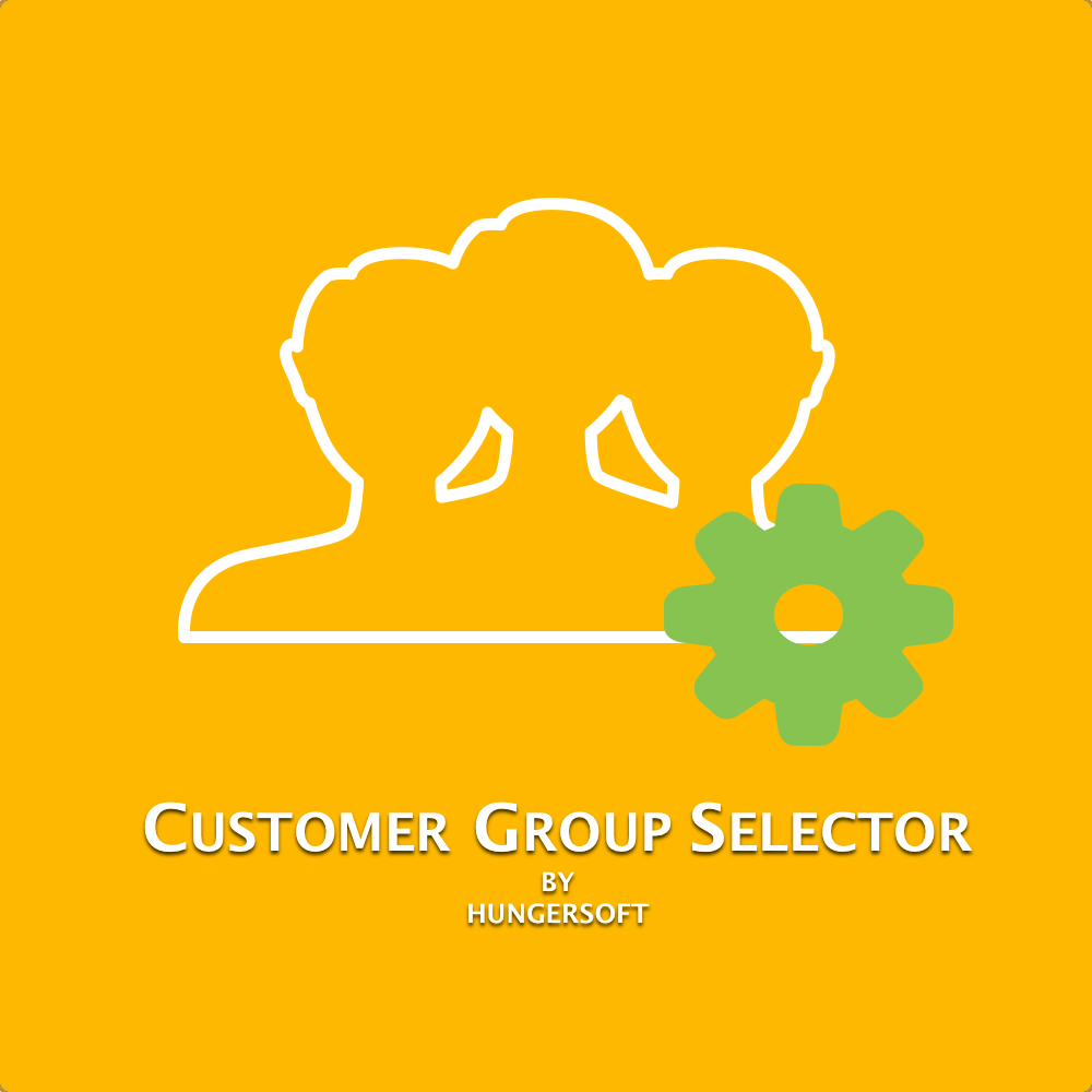 Customer group selector