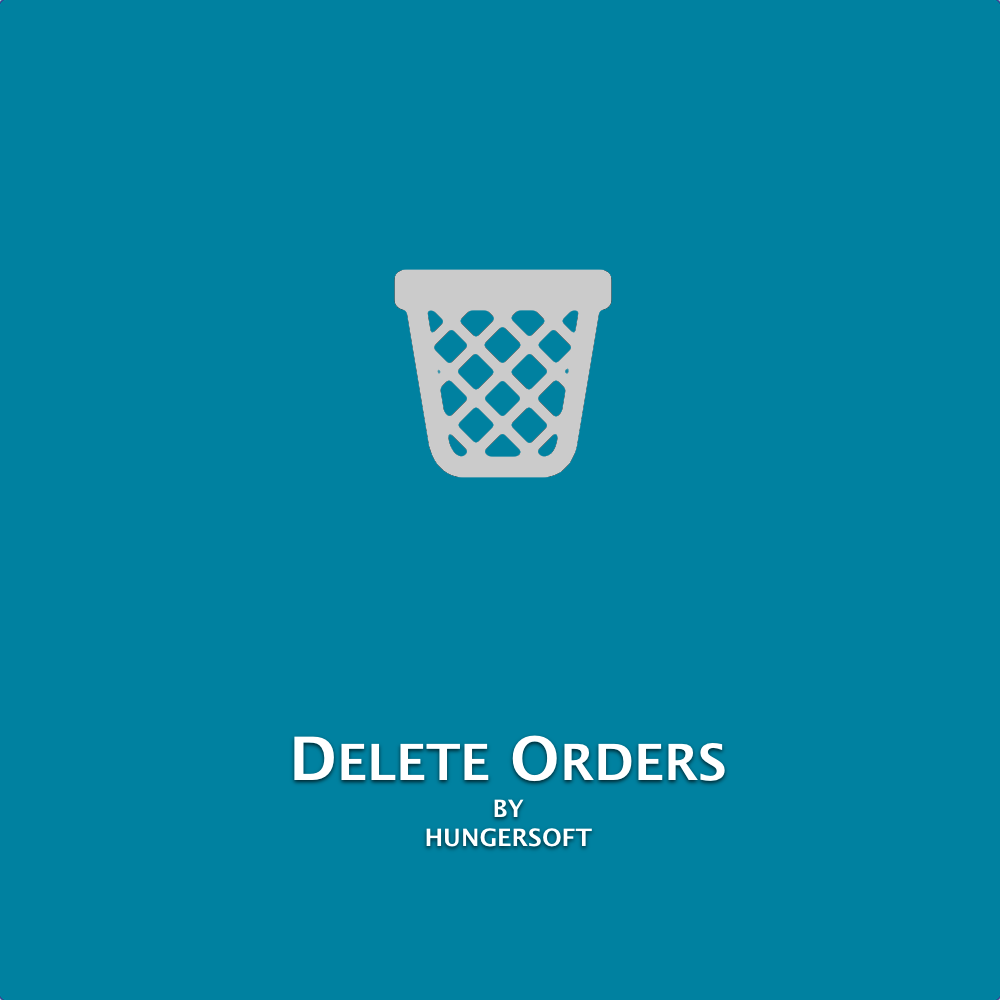 Magento 2 - Delete Order(s)