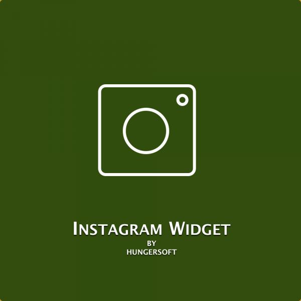 Instagram widget for Magento 2