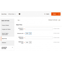 Base Price - Product Configuration - Magento 2