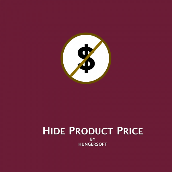 Hide Product Price - Magento 2