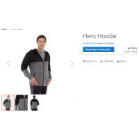 Hide Product Price - Link as button on product page - Magento 2