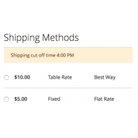 One Step Checkout - Shipping Instructions - Magento 2