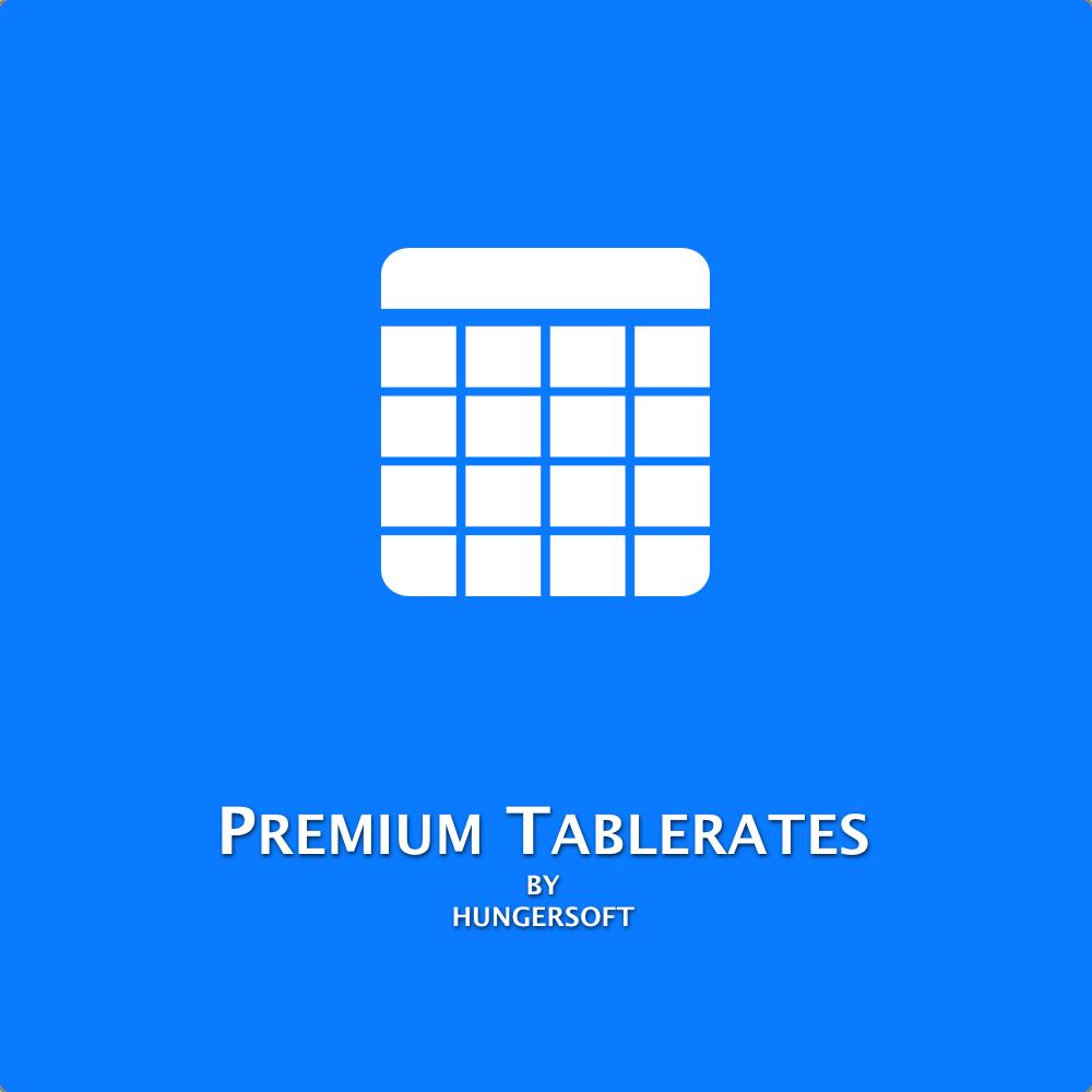 Premium Tablerates - Magento 2