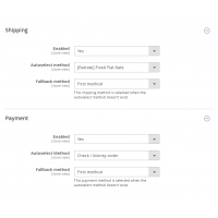 Magento 2 default Shipping Payment Method