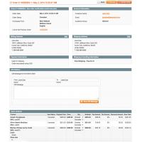 Magento Delete Orders - Order View