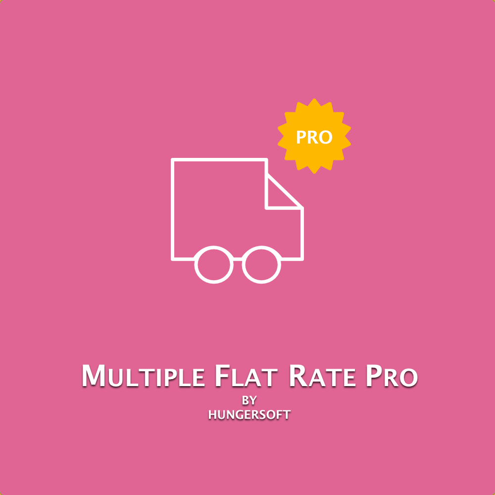 Multiple Flat Rate Pro Magento 2